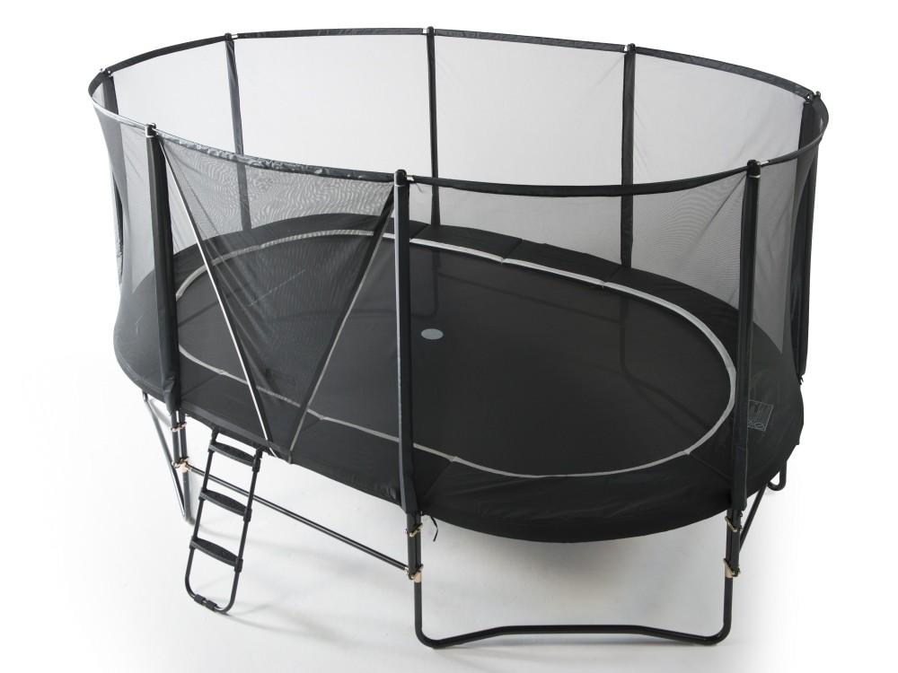 Sikkerhedsnet HD pa trampolin Orbit