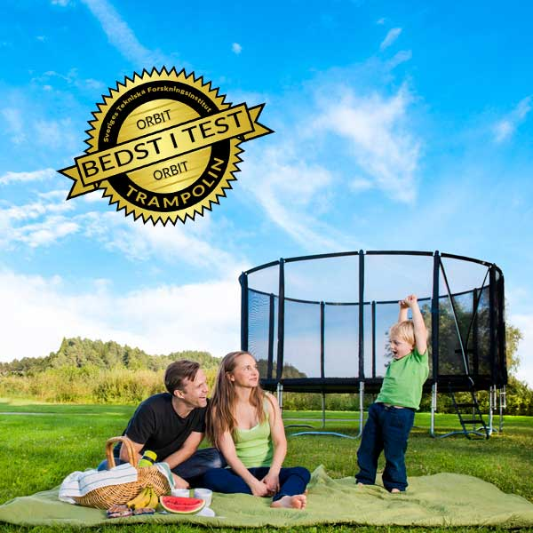 Orbit trampolin bedst i test